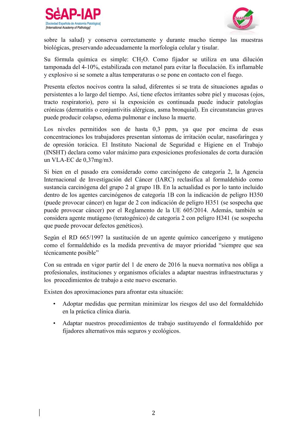 Recomendaciones SEAP formaldehido 2016.pdf - Enlaces de interés ...
