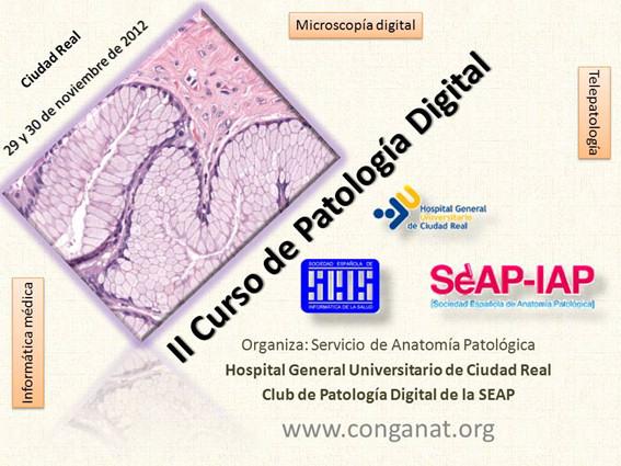 II Curso de Patología Digital. Convocatoria.