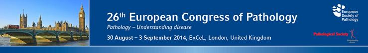 26th European Congress of Pathology in London