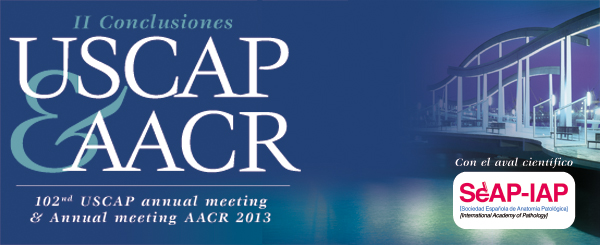 II Conclusiones USCAP & AACR (102nd USCAP annual meeting & Annual meeting AACR 2013)