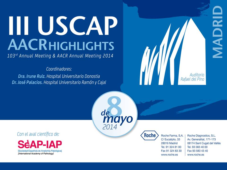 103rd USCAP Annual Meeting & AACR Annual Meeting 2014 Highlights