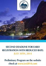Second deadline XVIII International Congress of Neuropathology, ICN 2014