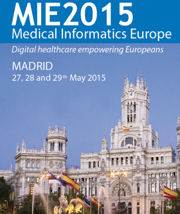 26th Medical Informatics Europe Conference, MIE2015