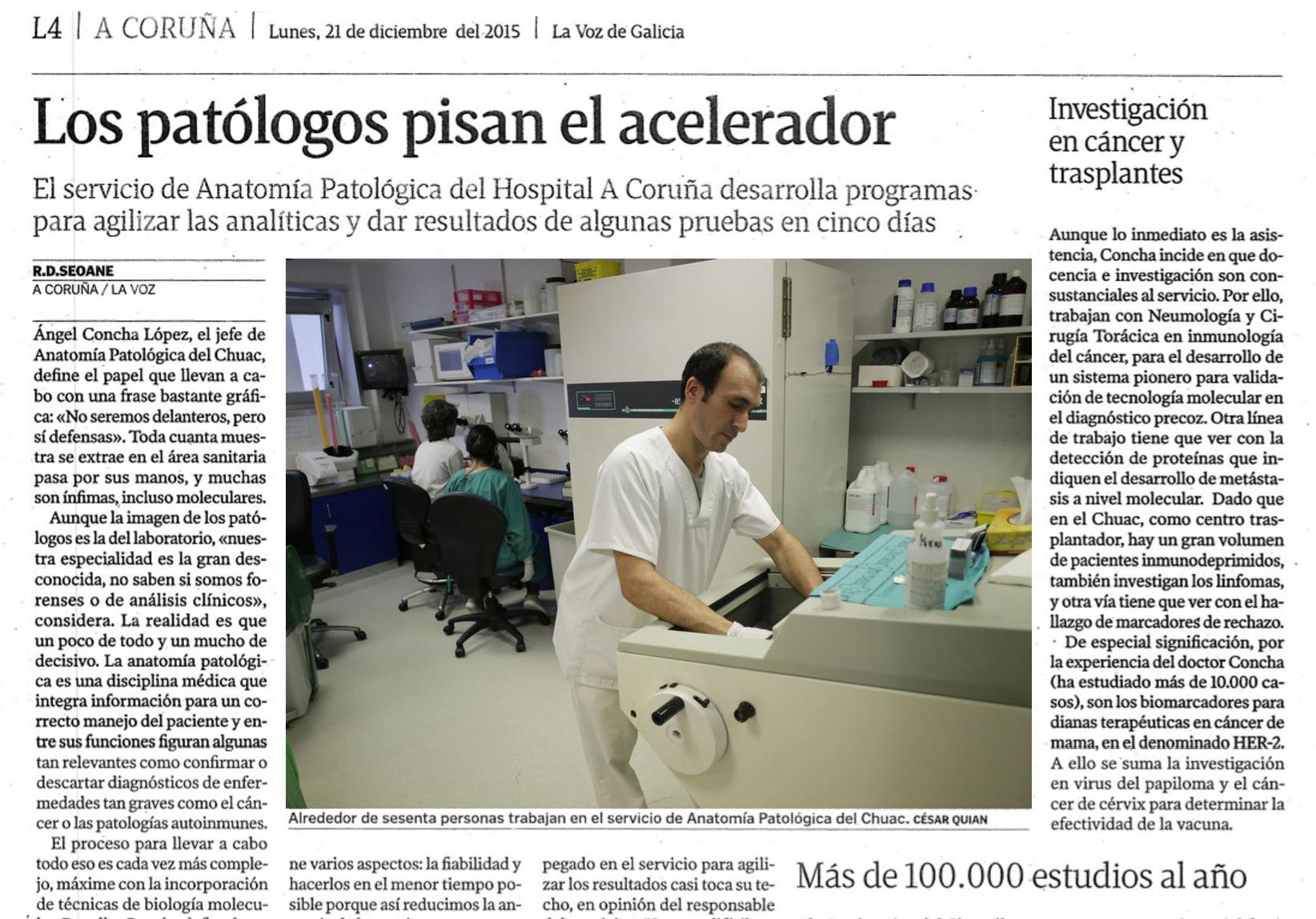 Actualidad - Sociedad Española de Anatomía Patológica