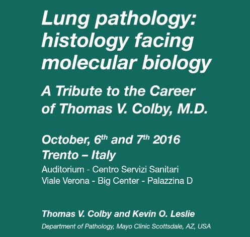 Lung Pathology: Histology facing Molecular Biology